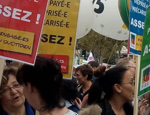 Mardi 9 octobre : Journée nationale de mobilisation, de grève et de manifestation