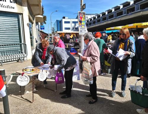 Les retraités de l'Essonne sont en colère et le disent !