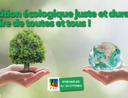Urgence écologique et urgence sociale – Appel unitaire