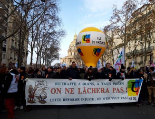 Manifestation du 10 décembre – Communiqué FSU Ile de France