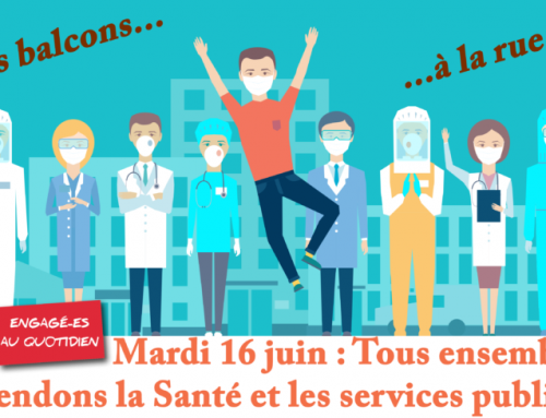 16 juin – Mobilisation des hospitaliers